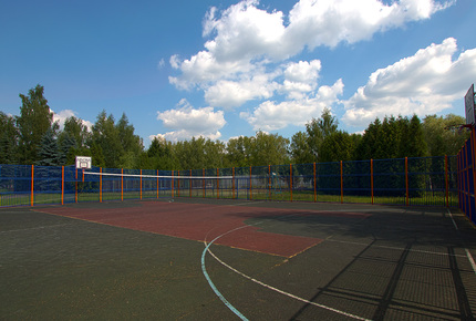 Outdoor sports grounds